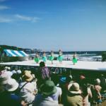 『フラダンスと昼ビール』鎌倉ビーチフェスタ2013
