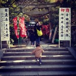 鎌倉最古の厄除け神社「八雲神社」に初詣。