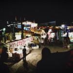 夏の浜辺に出現するタイの屋台村『リトルタイランド』