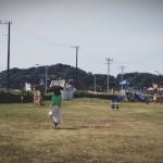 2才双子と鎌倉海浜公園
