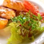 間引き菜のサラダ